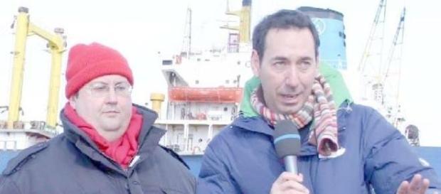 Fabio e Mingo di Striscia la Notizia.
