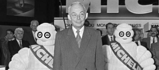 François Michelin en 1984. AFP