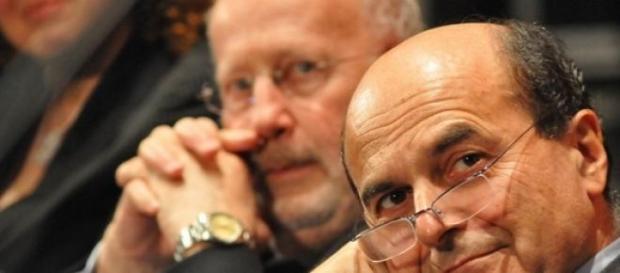 Pierluigi Bersani, uno dei voto contro la fiducia