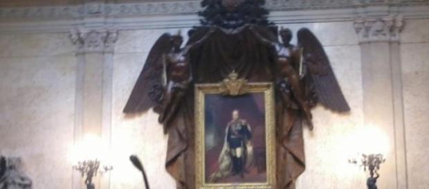 Sala do senado da assembleia da república