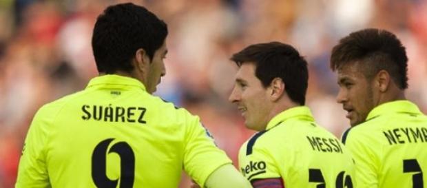 Trio MSN: sinônimo de gols no Barcelona