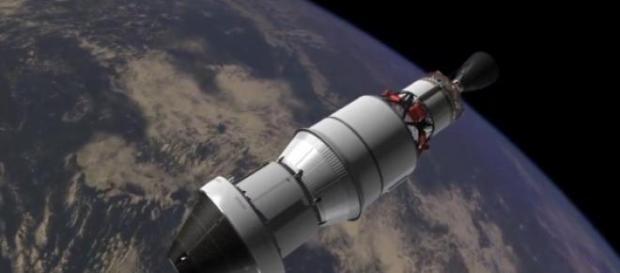 Una tipica navicella spaziale