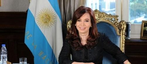 Cristina realizó su discurso desde Ushuaia