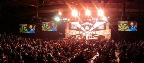 'Judgement Night' in Manchester in the darts
