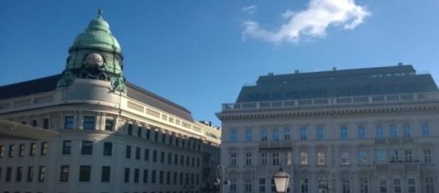 1010 Wien - Blick von der Albertina Plattform.