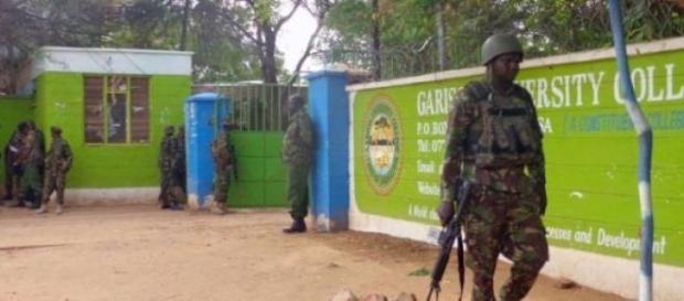 Campus di Garissa, colpito da un attentato.