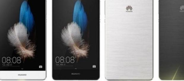 Imágenes del nuevo smartphone Huawei P8 Lite.