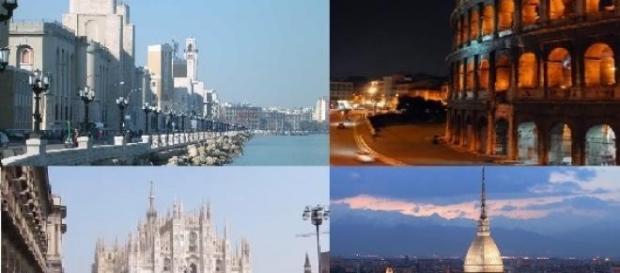 Rischi in aumento per Bari, Torino, Roma e Milano