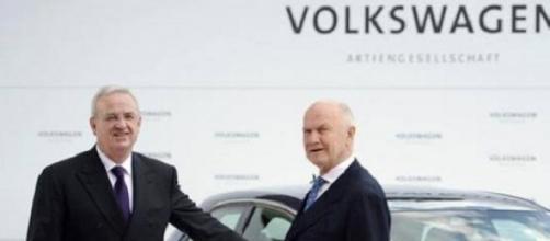 CEO Volkswagen Martin Winterkorn e Ferdinand Piëch