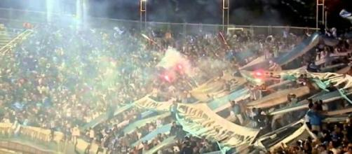 Hinchada de Racing Club de Avellaneda