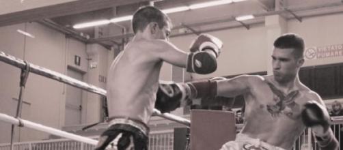 Incontro Kickboxe Michelangelo Manazza