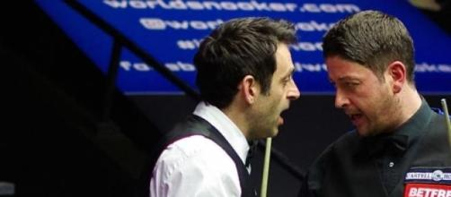 Ronnie O'Sullivan this week at Crucible