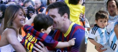 Thiago Messi vai ser irmão mais velho
