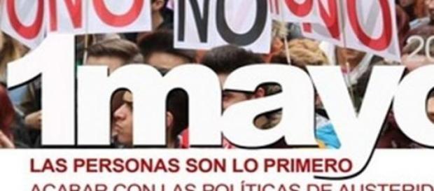 """Lema: """"Así no salimos de la crisis"""""""