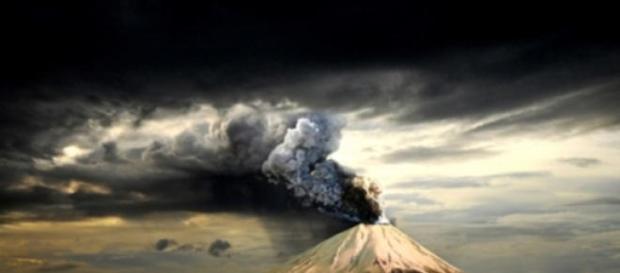 Wybuch  wulkamu stanowi poważne zagrożenie