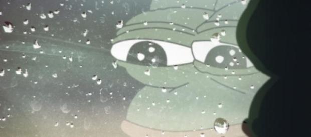 Żaba pepe, popularny mem na 4chan