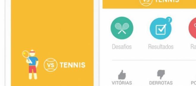 Aplicativo para IOS e Android facilita que jogadores amadores de tênis se encontrem para partidas reais criando um ranking e uma rede social de amantes desse esporte.