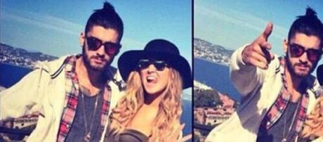 Zayn Malik e Perrie Edwards de férias