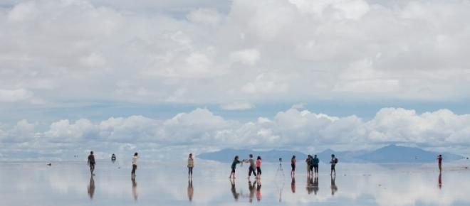 Il Deserto di sale di Uyuni, il Valle de la Luna e il ghiacciaio Perito Moreno. Tre dei luoghi più suggestivi del Sud America. <br />