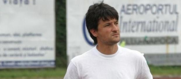 Adrian Falub la prima victorie la U Cluj