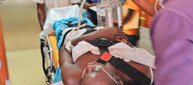 Dezenas de estudantes ficaram feridos