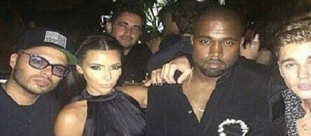 Justin Bieber y Kanye West trabajando juntos