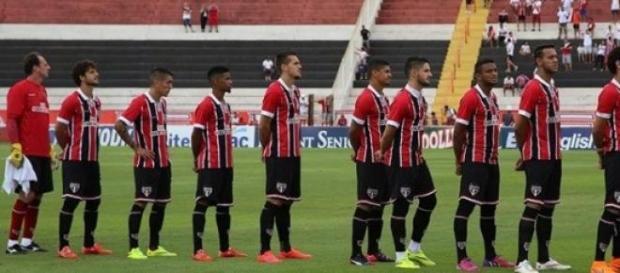 Time do São Paulo em Ribeirão Preto
