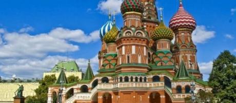Una exquisita postal de Moscú