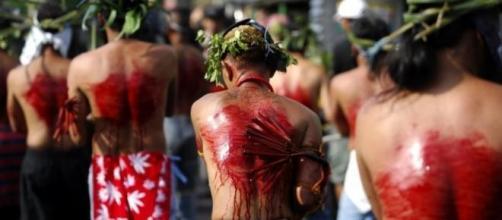 Comemoração da Páscoa nas Filipinas