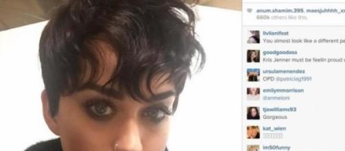 Katy presume nuevo look en Instagram