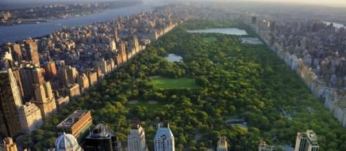 Nueva York, con central Park en imagen de archivo