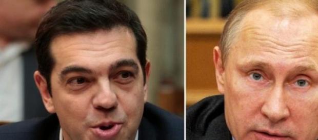 Alexis Tsipras si Vladimir Putin
