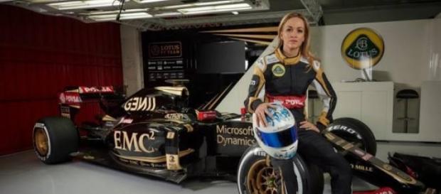 Carmen Jorda, pilote chez Lotus Team