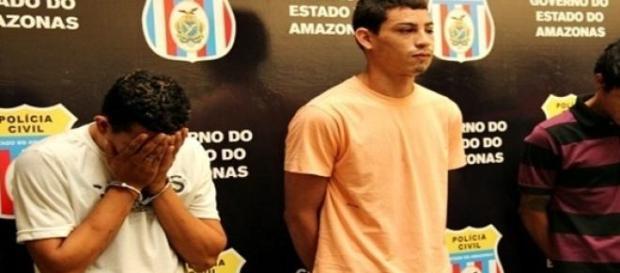 Indivíduos detidos em Manaus por assassinato