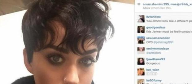 Katy presume look en Istagram