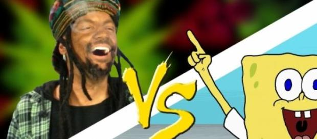 Paródia com 'Bob Marley' e 'Bob Esponja' na web.