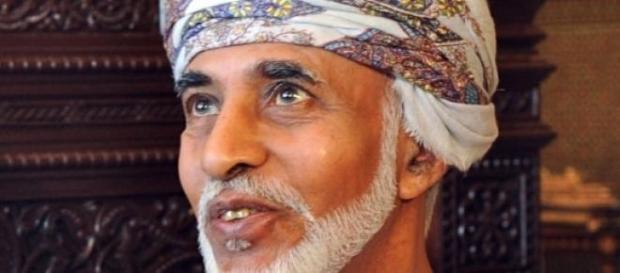 Sultão Qaboos, líder do Sultanado de Omã.