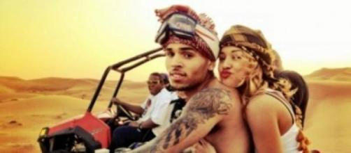 Chris Brown y Karrueche Tran