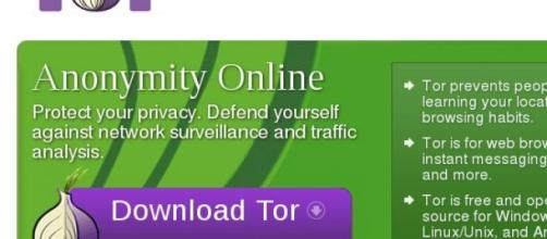 Icono donde debemos de pulsar paa bajar Tor