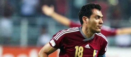 Juan Arango es suspendido con dos juegos