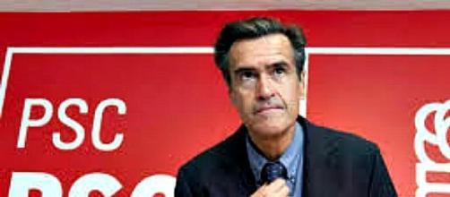 López Aguilar en un acto del PSOE