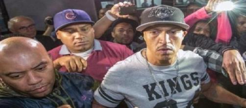 O rapper Mano Brown foi detido acusado de desacato