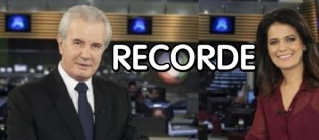 'Jornal da Record' tem maior audiência em anos