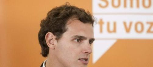 Albert Rivera, presidente de Ciudadanos