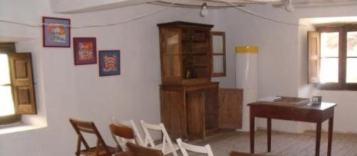 Aula principal de la escuela de Bañuelos de Bureba