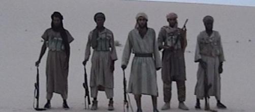 Foto de militantes da Al Qaeda