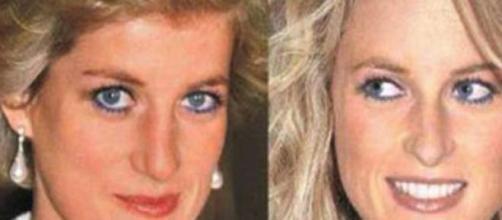 Fotografia revela semelhança entre Sarah e Diana.