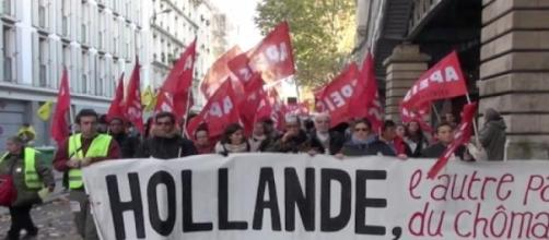 L'intersyndicale appelle à la manifestation.