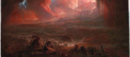 La destrucción de Pompeya y Herculano
