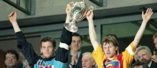 La photo historique de la finale de 2000